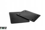 Auslegeplatte schwarz 9903047 360x250mm, FMU GmbH, Auslegeplatten