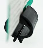 Preisschildhalter für Tabletts 3-W-Klammer 9903031, FMU GmbH, Snackzubehör