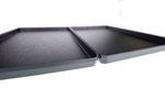 Auslegetablett schwarz 9903020 370x230mm, FMU GmbH, Tabletts schwarz