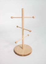 Brezelständer Willy 9910030, FMU GmbH, Verkaufshilfen aus Holz
