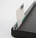 Preisschiene S-förmig für Tabletts ohne Rand 9903044, FMU GmbH, Snackzubehör