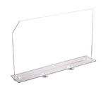 Warentrenner Acryl transparent, Artikel 9909017, FMU GmbH, Warentrenner, Blickfang
