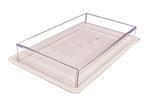 Abdeckhaube transparent ohne Tablett, FMU GmbH, Verkaufshilfen für die Warenpräsentation