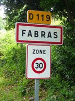 Bienvenue à FABRAS