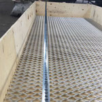 REJILLAS INDUSTRIALES GRATING PARA PISO METAL RED