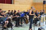 Big Band beim Weißbierfest 2015