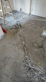 屯門裝修 - 鑿坑藏喉、鋪電線、預備插蘇位