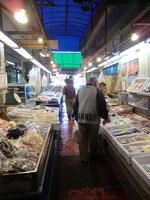 ●市場の中です