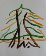 Pin-dragonnier, peinture inspirée par ethttp://krapooarboricole.files.wordpress.com/2010/06/calliliban.jpg