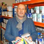 Willem-Klaas van Veldhuizen, buitendienst