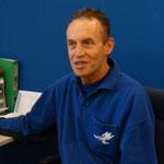 Arnold van Haandel, baliemedewerker