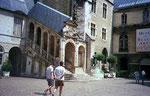 La cour du Palais Ducs de Bourgogne