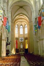Choeur de la cathédrale Saint-Bénigne
