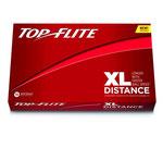Golfbälle bedrucken lassen, Top-Flite XL Distance, Bedruckte Golfbälle