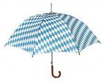 Bayern Regenschirm, Oktoberfest 2013, Bayerischer Regenschirm, Golfschirm