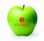 Apfel mit Logo, Logo Obst, Logo Obst Werbemittel, Obst Werbemittel, Apfel lasern, Apfel Lasern, Werbemittel Obst, Apfel Gravur, Werbemittel Apfel, Logo auf Apfel, Äpel mit Logo, Apfel branding
