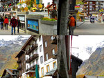 Webcam - Kamerastandorte: Saas Fee Dorf, Mittelallalin, Kreuzboden ob Saas Grund
