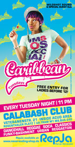"""Wildshot Sound at """"Caribbean Tuesdays"""" Berlin's regular dancehall party every tuesday night (until April 2010)"""