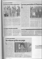 Article yoga Presse Ocean