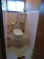 画像はリフォーム式トイレの様子
