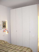 double bedroom: the wardrobe