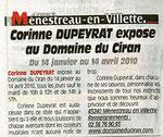 Domaine du Ciran, Avril 2010