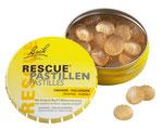 Rescue Pastillen Orange-Holunder 50 g Original Bach Blütenmischung Rescue Notfallmittel