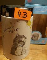Behälter Leckerlie Katze