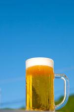 青空とビール4