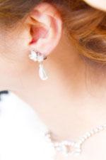 花嫁のイヤリング