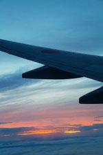 飛行機からの眺め16