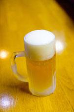 冷えひえのジョッキ生ビール2