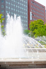 札幌 大通公園の噴水2