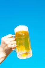 青空とビールを片手に5