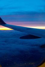 飛行機からの眺め18