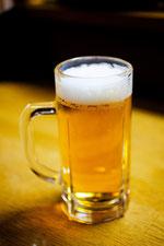 日本 北海道 居酒屋の生ビール