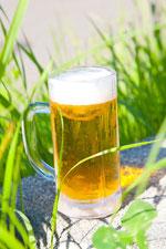 緑とビール2