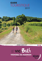 "Tourist map ""The Vic-Bilh"", in the vineyard of Madiran 2016"