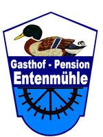 Wappen-Logo Gasthof & Pension Entenmühle