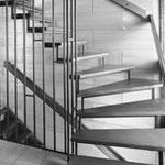 Treppenrenovierung Bucher Treppen vorher