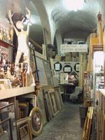 Florenz, beim Holzschnitzer