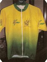 Maillot de l'Amicale Cyclo Florentaise Devant