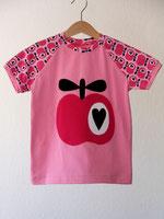Lumpenprinzessin T-Shirt Simply Apple Hamburger Liebe