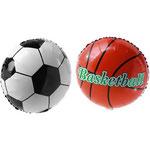 GLOBO FOIL 45 CM BASKETBALL 3,95€ CON HELIO