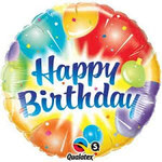 GLOBO HAPPY BIRTHDAY 45 CM 4,95€ CON HELIO