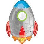 Globo foil Cohete 73 cm 12€ con helio