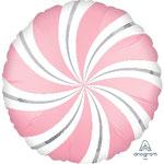 GLOBO FOIL CARAMELO ROSA CHICLE 45 CM 4,95€ CON HELIO