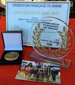 Médaille et Trophée FFD