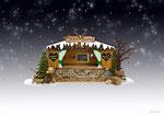 """Weihnachtsmarkt/Verkaufsstand Dekor """"Winterzauber"""""""