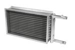 Воздухонагреватель водяной для прямоугольных каналов